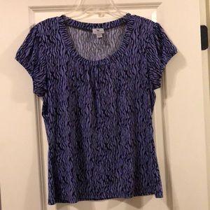 Worthington short sleeve blouse